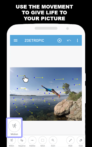 Zoetropic (free) - Photo in motion hack tool