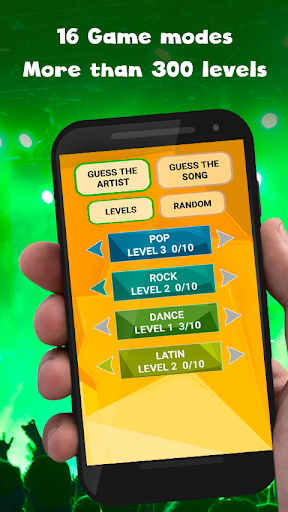 Guess the song - music quiz game hack tool