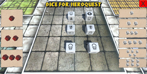 Dice for Heroquest