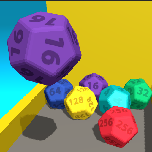 Merge Cube - 2048 Stack Chain 3D Tricks Mods For Resources