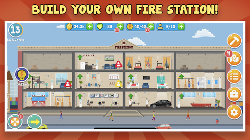 Fire Inc: Classic fire station tycoon builder game hack tool