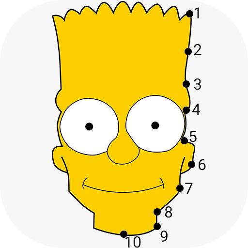 Dot To Dot To Simpsons Colouring Puzzle Game Hack Cheats Unlimited Resources