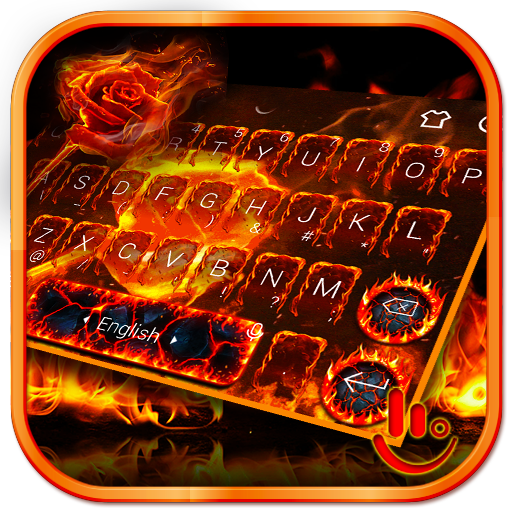Flaming Flower Keyboard Theme Hack Cheats Unlimited Resources