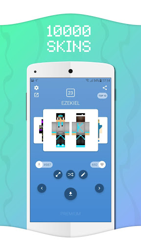 Skins for Minecraft PE hack tool