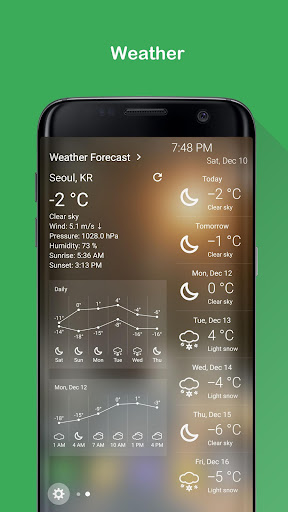 Weather for Edge Panel