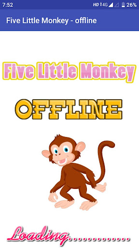 Five Little monkey video song in offline hack tool