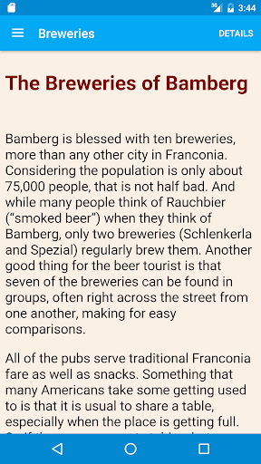 Bamberg Beer Guide cheat hacks