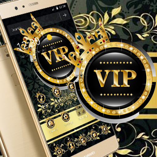 Gold Black Crown VIP Theme Hack Cheats No Surveys Mods