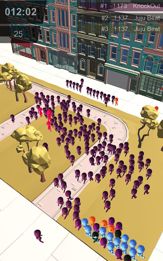 Stickman Crowd in City hack tool