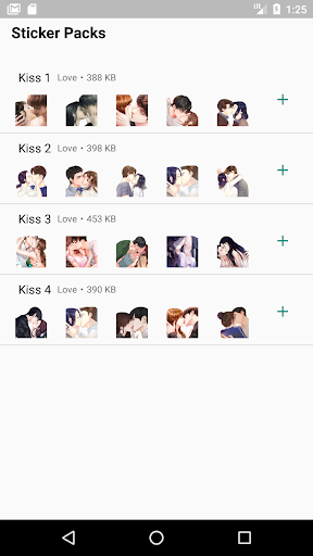 WAStickerApps Kiss Stickers hack tool