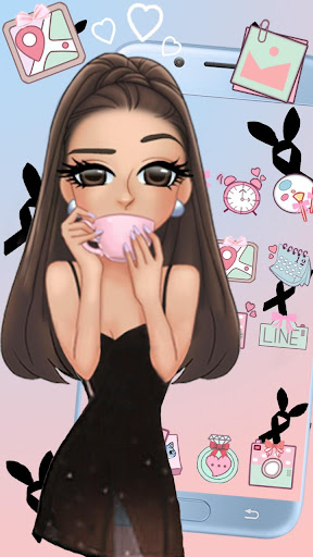 Pink Fashion Girl Themes HD Wallpapers hack tool