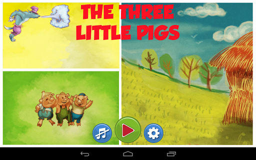 """""""The three little pigs"""" tale"""