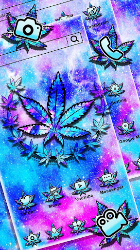 Colorful Weed Themes HD Wallpapers Launcher 3D cheat hacks