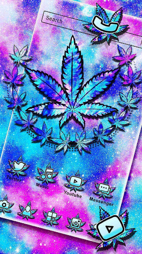 Colorful Weed Themes HD Wallpapers Launcher 3D hack tool