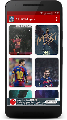 Messi Wallpaper hack tool