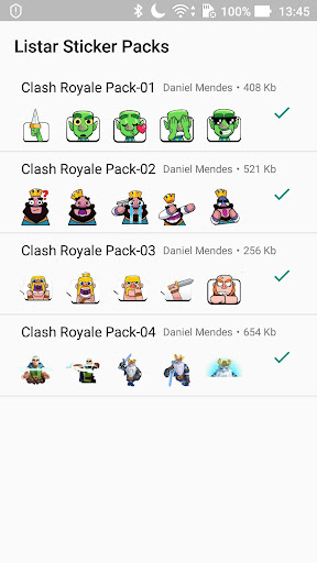 Stickers Clash Royale - WAStickerApps Hack Cheats Android iOS