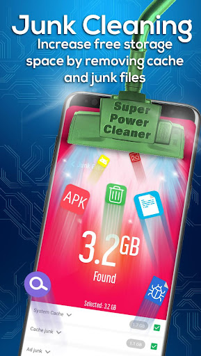 Super Power Cleaner - Cache Cleaner & App Lock Hack Cheats