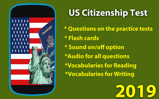 US Citizenship Test 2019 Hack Cheats Android iOS - HackCheaty