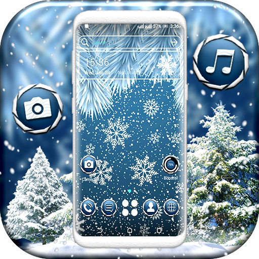 Winter Snowflake Launcher Theme Hack Cheats Without Generator