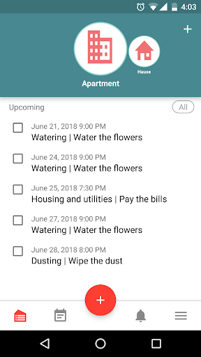 Housekeeping. Planner & reminder household chores cheat hacks