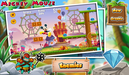 Mickey Adventures Mouse Jungle world cheat hacks