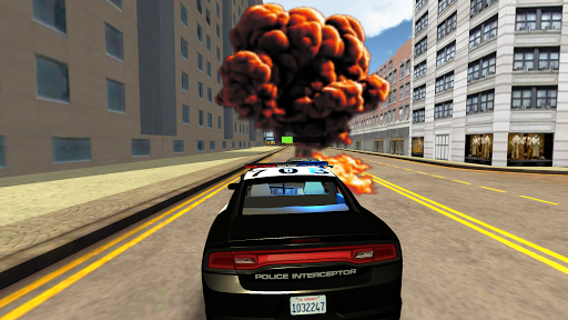 American Police Car Driving