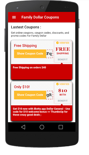 Smart Coupons for Family Dollar app 2019 Hack Cheats Online