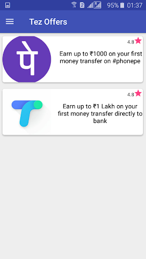 Tez Google Pay Offers Referral Codes Hack Cheats Android iOS