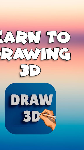 How to draw 3D Drawing step by step easy