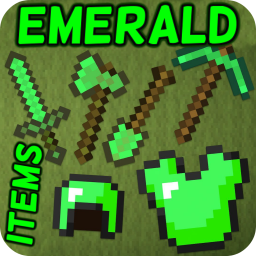 Mod Emerald Items ⛏ Hack Cheats Without Generator