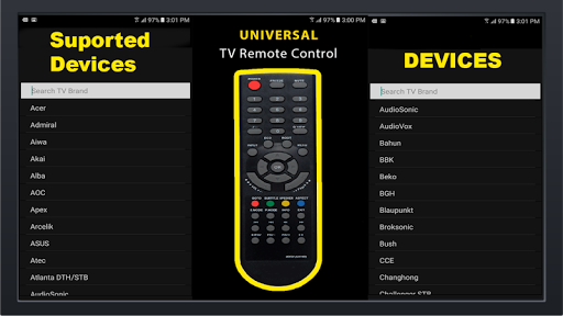 Universal Free TV Remote Control for All LCD