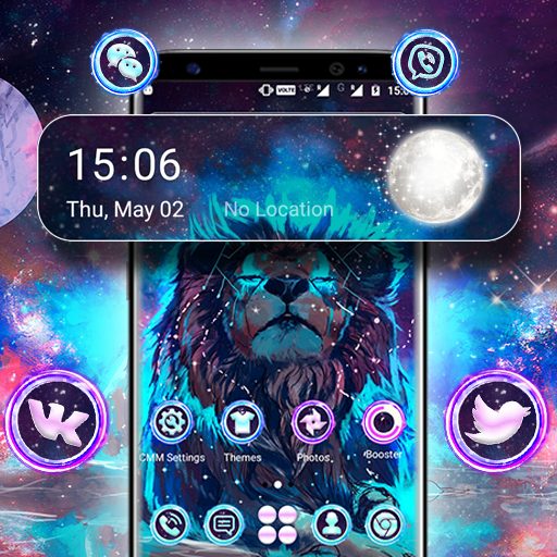 Abstract Lion Launcher Theme Hack Cheats Without Generator